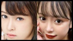 マリア愛子の加工インスタとプロフール画像比較