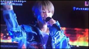 松島聡の金髪